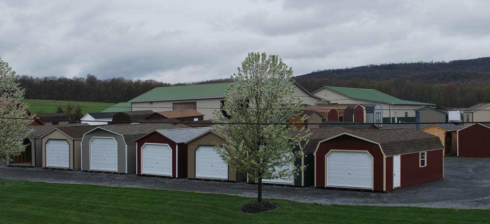 Garages Storage Sheds Log Homes Pennsylvania Maryland And West