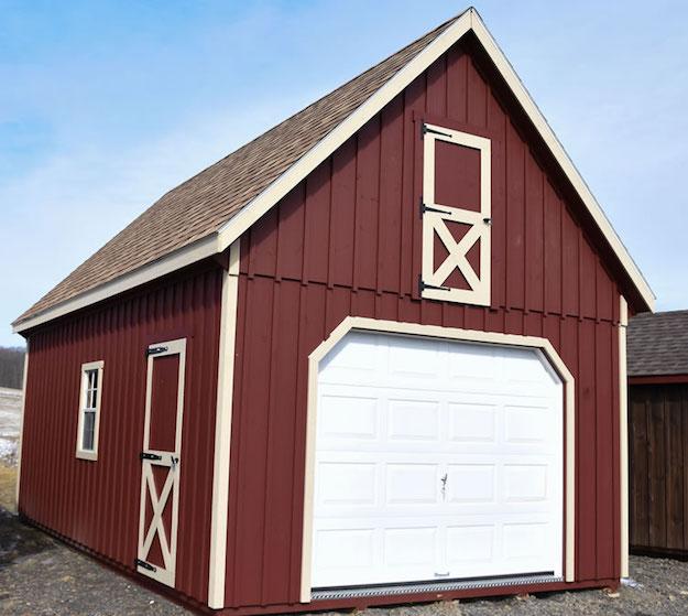 Raised Roof Garage