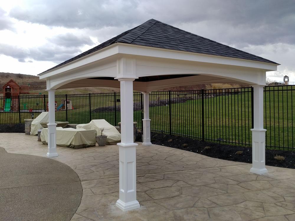 Wood Pavilions Pennsylvania Maryland and West Virginia